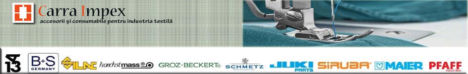 Accesorii, consumabile industria textila